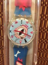 "1991 Swatch Watch ""Gulp"" By Massimo Viacom - GK 139 - Box And Paper"