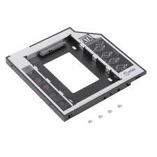 9.5mm Universal SATA 2nd HDD SSD Hard Drive Caddy for CD/DVD-ROM Optical Bay WA