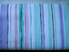 Michael Miller's Cory Stripe in pink pastels 100% cotton fabric per fat quarter