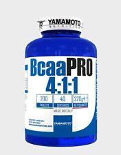 YAMAMOTO NUTRITION BCAA PRO 4:1:1 Aminoacidi Ramificati Kyowa 200 Compresse
