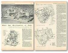 1954 Glass Age Development Of Soho, Jellicoe, Mills, Pilkington