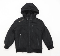 George Boys Black Midweight Jacket Age 4-5 Years