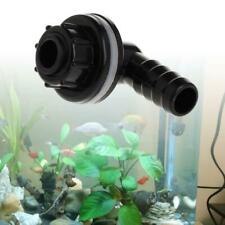 Plastic Tank Connector Waterproof Water Drainage Joints Aquarium Accessories