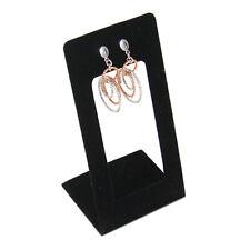 Black Velvet One Pair Earring Jewelry Display Holder Dangling Earring Stand