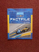 Team Spirit renault f1 team Factfile Round 5 European 2006 ALL DRIVERS Info Alon