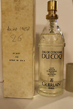 GUERLAIN Paris DU COQ Eau de Cologne 100 ml year 1987 VINTAGE!!!