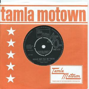 Four Tops:Reach out I'll be there/Until you love someone:UK Tamla Motown.