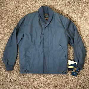 Vintage Original Varsity by Catalina Lined Jacket Blue Full Zip Men's Size 40