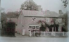 "PRINT 10"" X 7""  MR COOPERS BAKERS SHOP AND JUBILEE COTTAGE ASHFORD HILL HAMPSHIR"