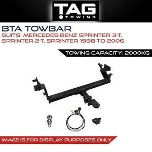 BTA Towbar Fits Mercedes Benz Sprinter 3-t 2-t Sprinter 1998-2006 Towing 2000Kg