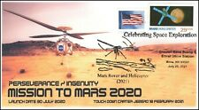 21-208, 2021, Mission to Mars, Event Cover, Pictorial Postmark, Reno NV,