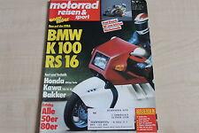 164715) Kawasaki VN-15 SE im TEST - Motorrad Reisen Sport 17/1988