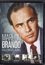 Marlon Brando: Hollywood Rebel 4 Movie Collection (2 Disc DVD) The Wild One,