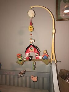 the dolly toy company farm mobile: See Photos