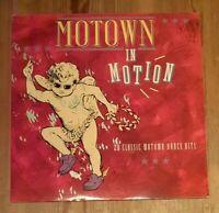 Various – Motown In Motion 2× Vinyl LP Comp Gate 33rpm 1988 K-Tel – NE 1410
