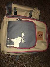 Canadiana Picnic Backpack For 4 Persons Family Lunch Set w/ Insulated Cooler