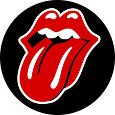 CHAPA/BADGE THE ROLLING STONES Logo . keith richards mick jagger brian jones pin