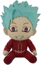 *Licensed* The Seven Deadly Sins Ban Greed Sitting Pose Plush Doll Anime NEW