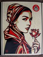 Obey Natural Springs print by Shepard Fairey signed and numbered
