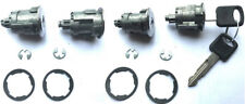 NEW Ford OEM 4 (Four) Door Lock Cylinders Lock-Set LOCKSET W/2 OEM Logo Keys