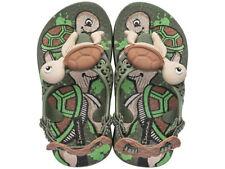 Scarpe Sandali verde medio per bambini dai 2 ai 16 anni