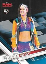 2017 Topps WWE Blue Parallel #5 Bayley #55/99