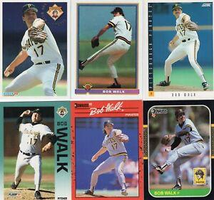 BOB WALK Lot of 28 Different Premium MLB Baseball Cards Pittsburgh Pirates LQQK!