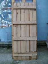 "Ledged Cottage plank door doors always in stock up to 72"" tall and 28"" wide"