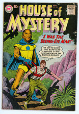 JERRY WEIST ESTATE: HOUSE OF MYSTERY #104 (DC 1960) FN condition NO RES