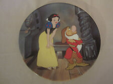 Stubborn Grumpy collector plate Snow White And Seven Dwarfs #7 Disney