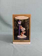 "Hallmark Keepsake Magic Collector's Series Peanuts Snoopy ""Flickering Light"" '94"