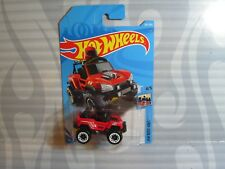 2018 HOT WHEELS ''HW RIDE-ONS'' #282 = BOGZILLA = RED , int