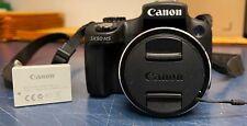 CANON POWERSHOT SX50 HS 12.1MP DIGITAL CAMERA - BLACK TESTED