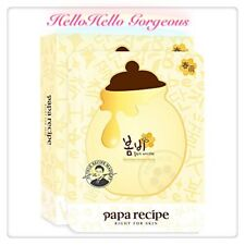 [ Free Gift & Samples ] Papa Recipe Korean Bombee Honey Mask Pack/10 Sheets.USA.