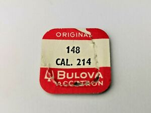Bulova Part 148 for Cal 214, Dial Nut X 3, New Old Stock, Vintage Bulova Parts
