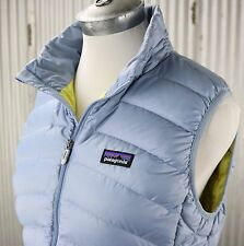 Patagonia Down Sweater Vest Jacket Womens sz M medium blue insulated 84627 $179