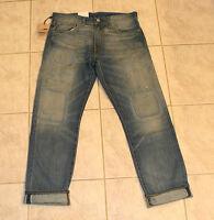 Levi's Premium Goods 511 Men's Slim Fit Selvedge Denim Jeans 32x32 $188 NEW