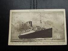 Cunard to Canada, Magnificent new oil burners, Antonia, Andania, Ausonia
