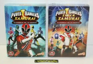 ++ coffret DVD intégrale saison POWER RANGERS SAMURAI / SUPER SAMURAI NEUF ++