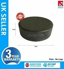 Official Regulation Full Size Ice Hockey Puck - Blank - No Print - Made in UK