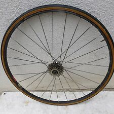 SATURNE EARLY DURA ACE 6 SPEED RIM ROAD SEW UP 28 HOLE WHEEL VINTAGE SHIMANO