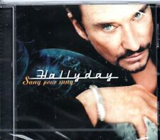 "CD ""Johnny Hallyday  SANG POUR SANG""  NEUF SOUS BLISTER"