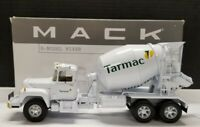 "Rare!!! First Gear Mack R-Model ""Tarmac"" Cement Mixer #10-2320 1:34 Scale"