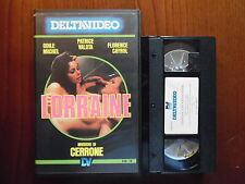 Lorraine - Sexual perversion (Odile Michel, Patrice Valota)  VHS Deltavideo rara