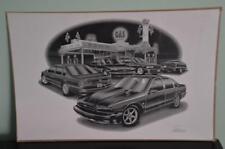 """Thom SanSoucie 1994-96 Chevy Impala Flashback Black & White Print 11""""x17"""" # 1412"""