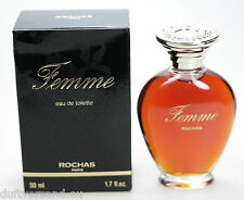 Rochas Femme 50 ml Eau de Toilette EdT Splash Neu / OVP