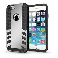 Hybrid Armor Protective TPU Case + PC Hard Box Cover For iPhone 6