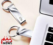 2TB Metal USB Flash Drive Memory Stick Storage Thumb Key U Storage Disk