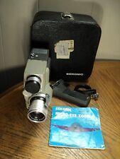 Vintage Sekonic Micro Eye Zoom Movie Camera No. 53EE w/ Case Instructions Plus