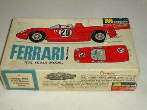 MONOGRAM 1/32 FERRARI 275P UNBUILT MODEL CAR KIT 1965 ISSUE  SLOT CAR CONVERSION